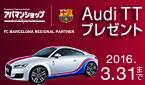 Audi TT プレゼント