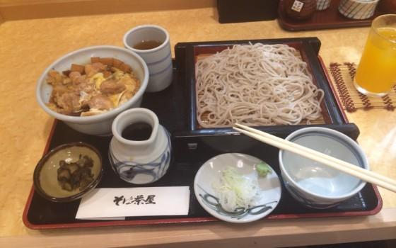 新杉田駅の小諸そば系茶屋さん