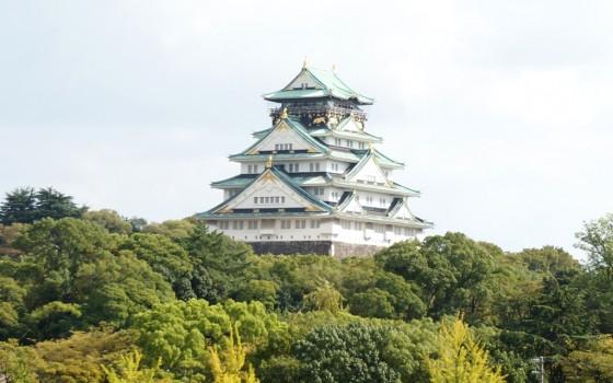 大阪のシンボル大阪城!