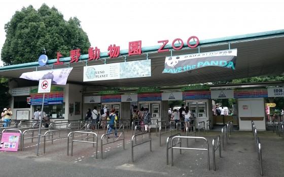 上野動物園!