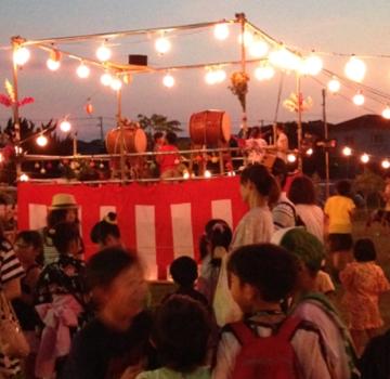 地域恒例の夏祭り