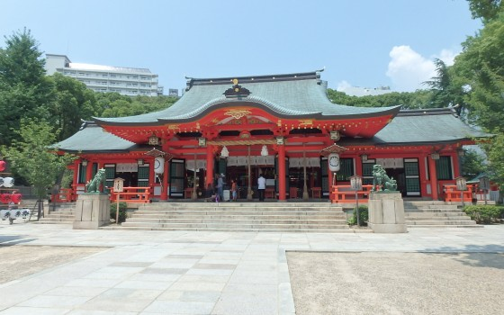 生田神社ってどこにあるの?