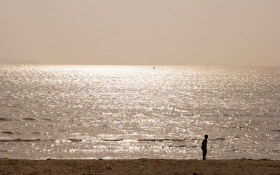中田島砂丘を紹介します