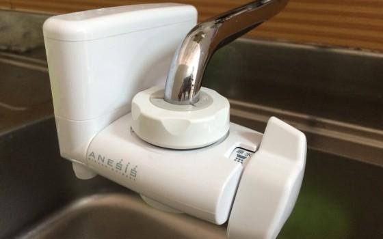 おいしい浄水で健康と安心を