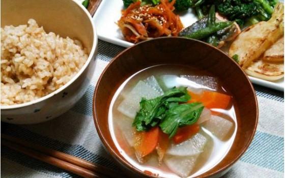 【献立】野菜たっぷり和食