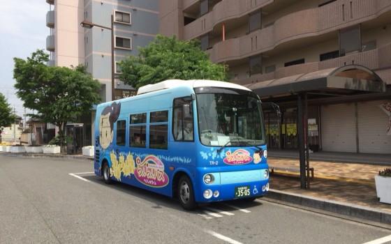 東海市の貴重な足 らんらんバス