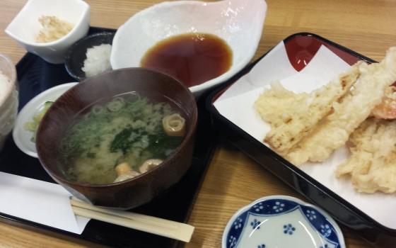 松江で天麩羅ランチ!!