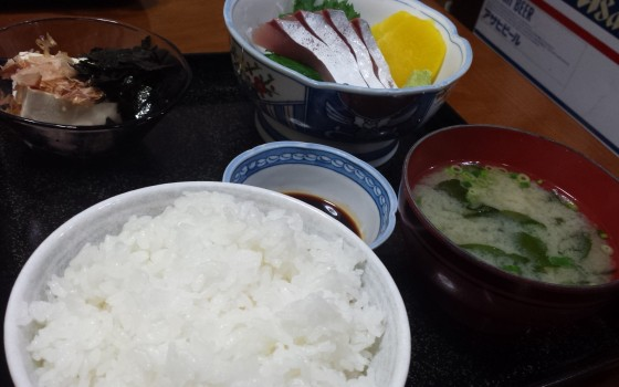 ☆松江城付近で定食ランチ☆