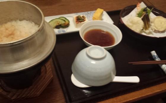 松江で釜飯ランチ!