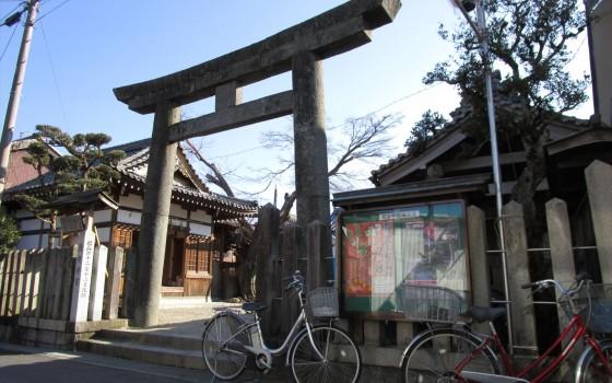 商売繁盛で 笹(?)もってこいっ! ~蛭子神社~